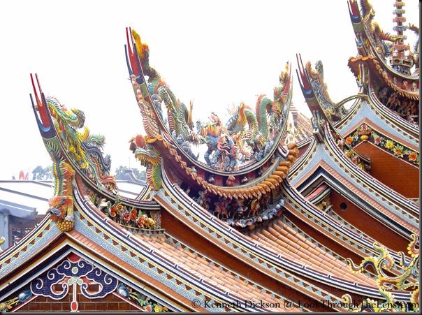 Temple Roofs @ Guandu Temple